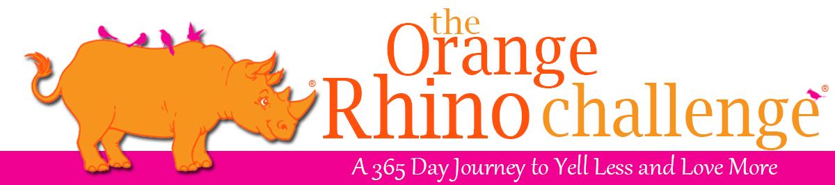 rinoceronte naranja