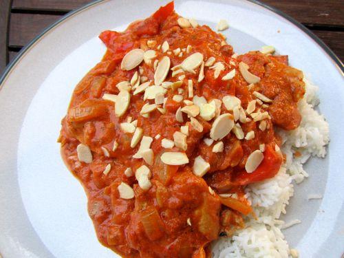 Quark tikka curry