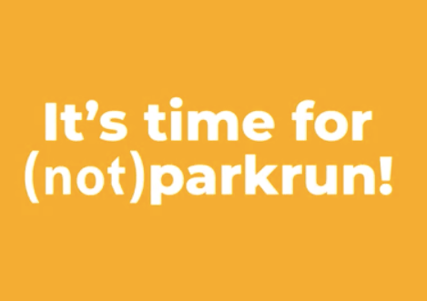 It's time for (not) parkrun!