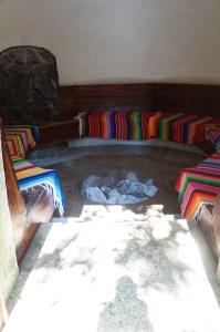 Interior of the Temezcal