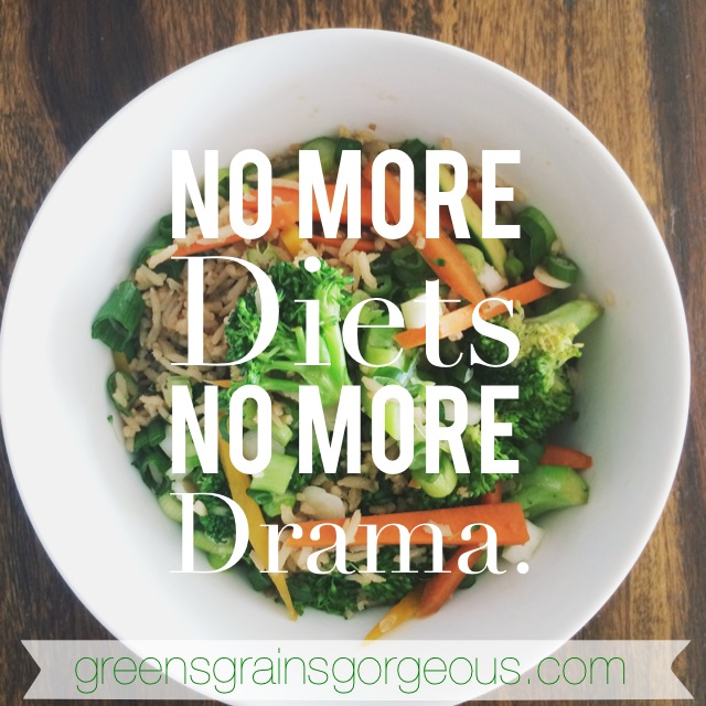 No More Diets -- GGG