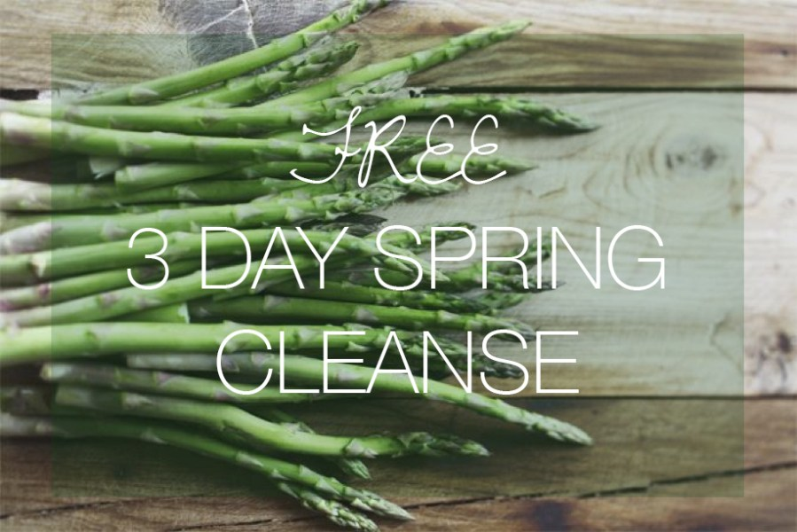 Free 3-Day Spring Cleanse