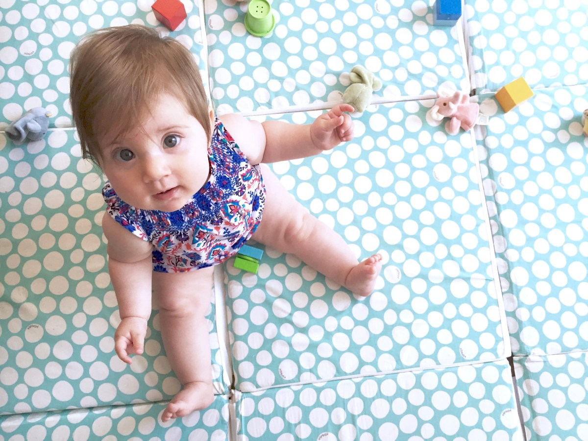 Adorable Non-Toxic Play Mats
