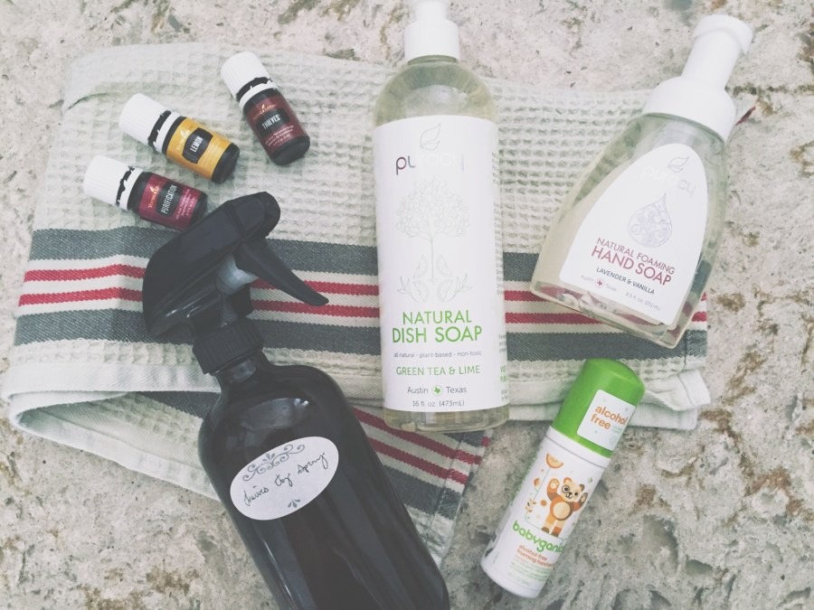 Baby-Safe Cleaning | The Organic Beauty Blog