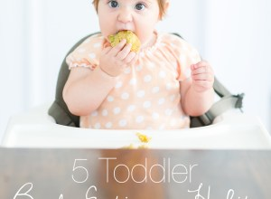 5 Toddler Bad Eating Habits to Break NOW