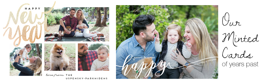 Minted Holiday Cards  |  The Organic Beauty Blog