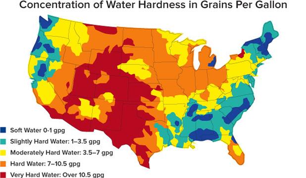 hard-water-map-usa