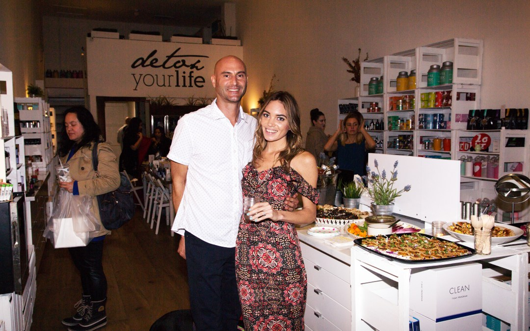 The Magical Book Launch Party at The Detox Market
