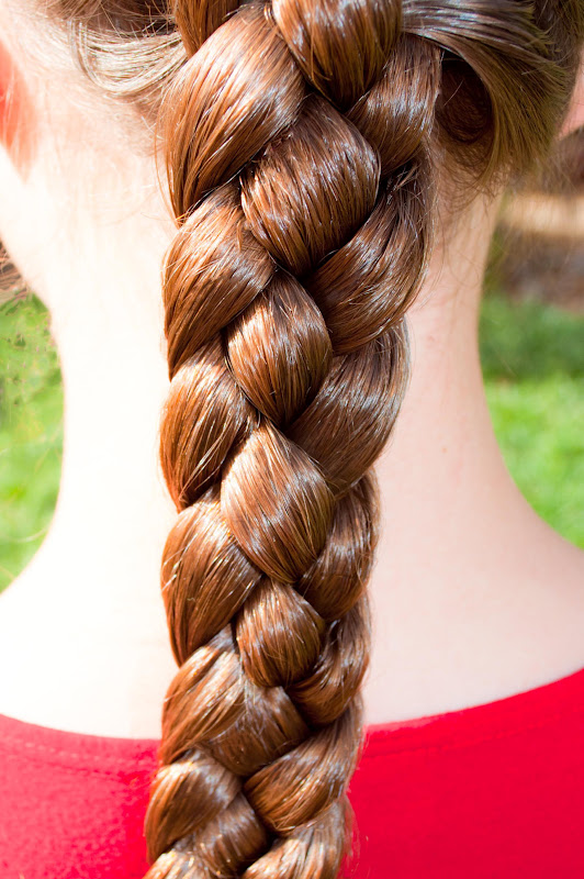 Quirky braid hairstyle for girls + step by step