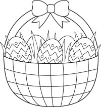 Printable Easter Colouring Pages - The Organised Housewife