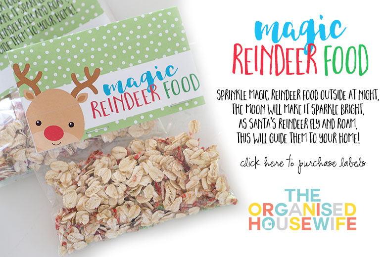 HOW TO MAKE MAGIC REINDEER FOOD The Organised Housewife