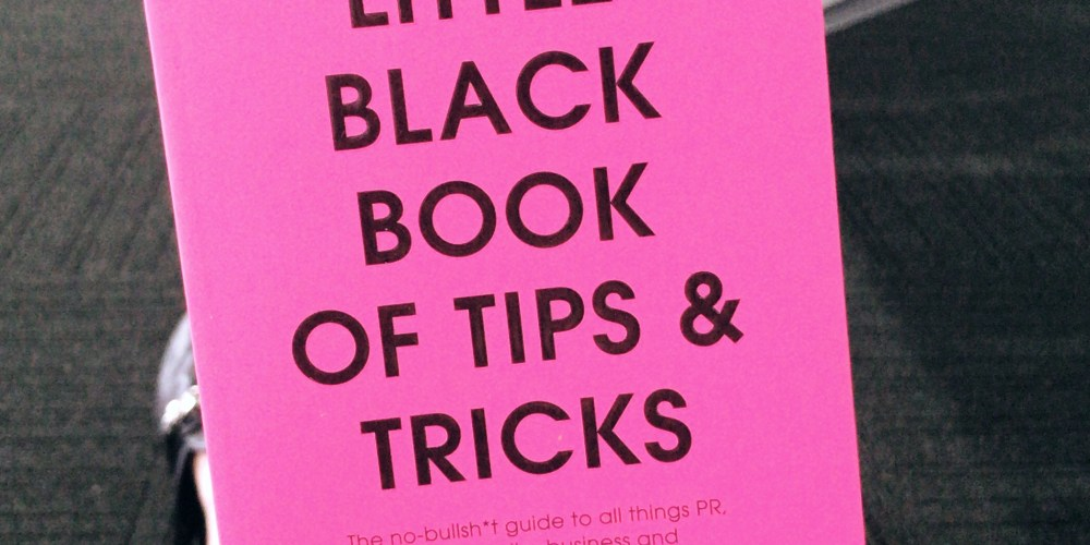 Roxy Jacenko's little black book of tips & tricks front cover