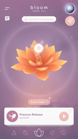 bloom mindfulness app techniques
