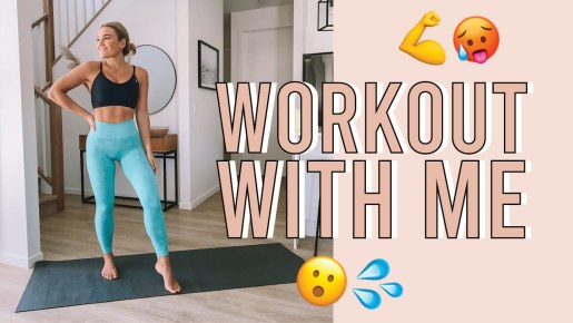 Georgie Stevenson YouTube workouts