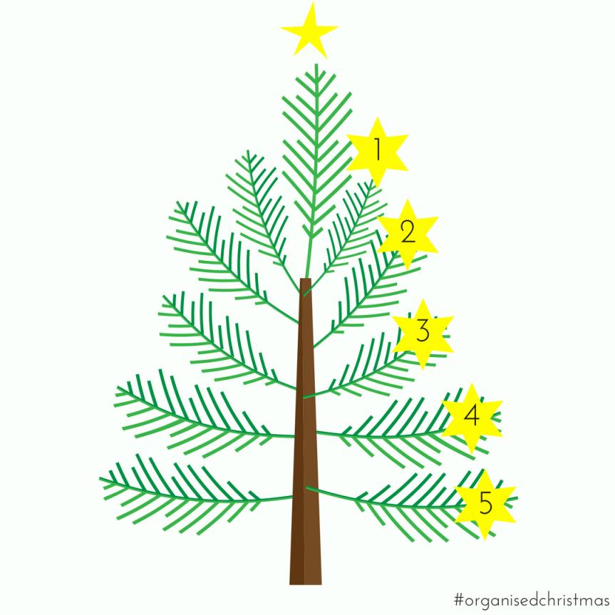 Organised Christmas: Week 5