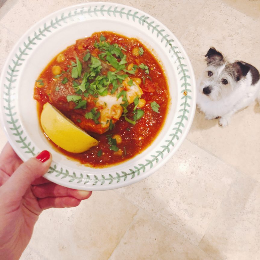 Slow Cooker Curried Cod