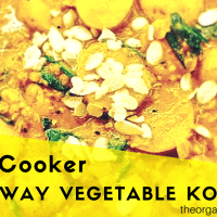 Slow Cooker Fakeaway Vegetable Korma