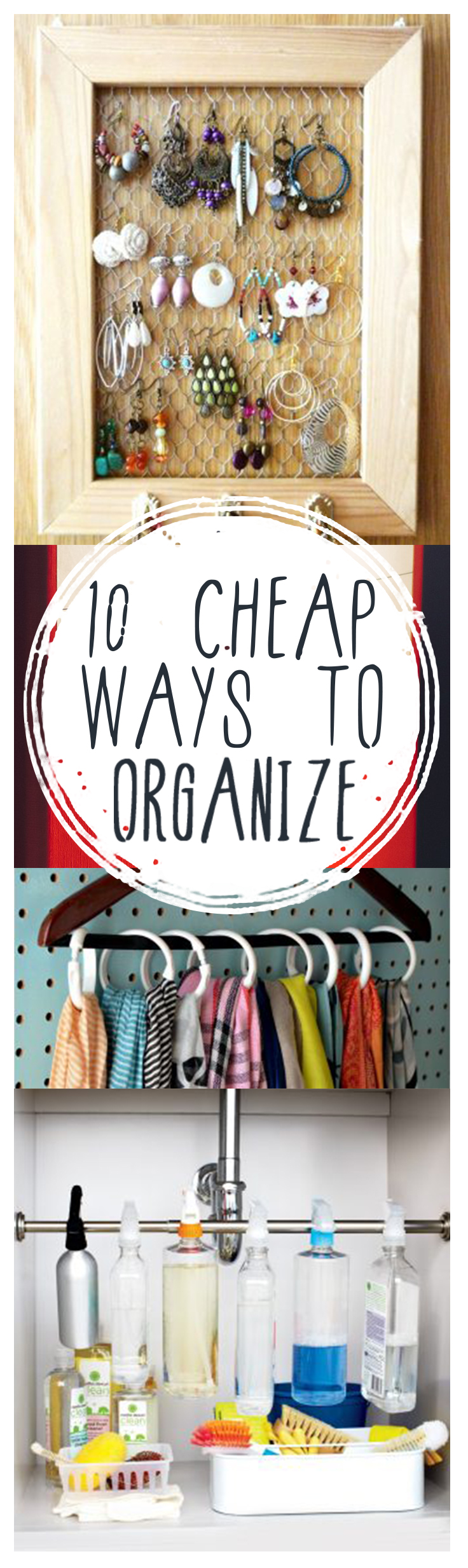 10 Cheap Ways To Organize  Page 2 Of 11
