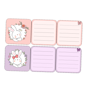 3D Planner Card Stickers