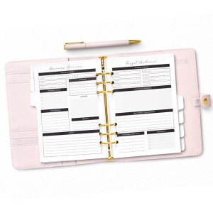 Business Overview Planner Pages