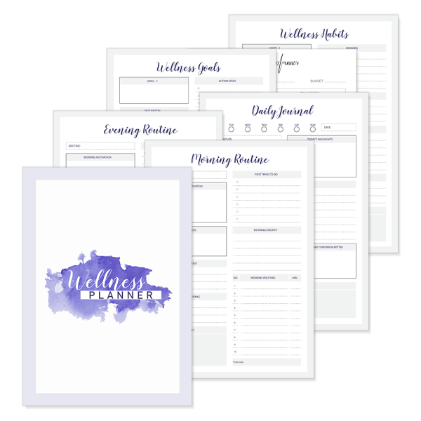 Wellness Planner Pages