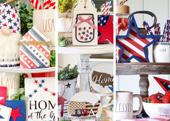 20 Patriotic 4th of July Tiered Trays