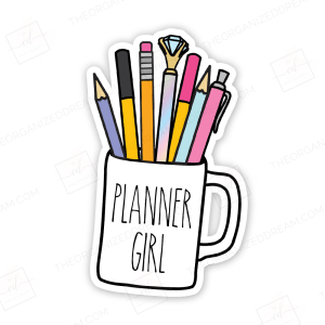 Planner Girl Die Cut