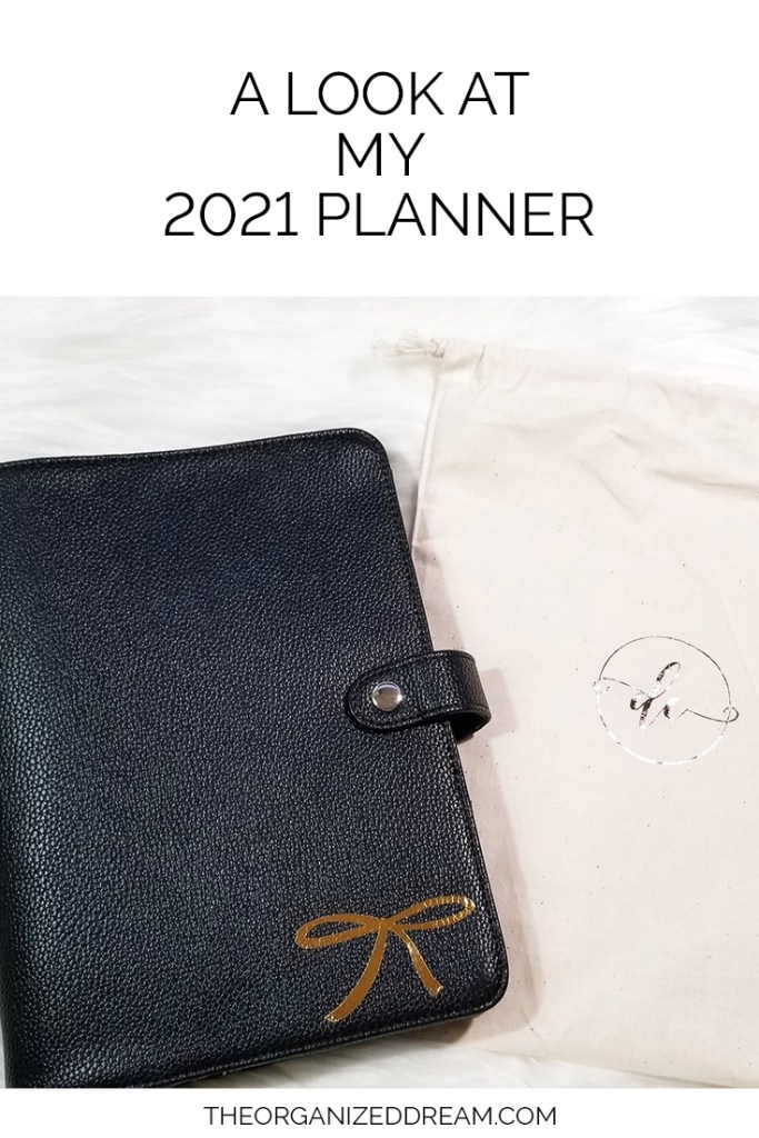 A Look at My 2021 Planner