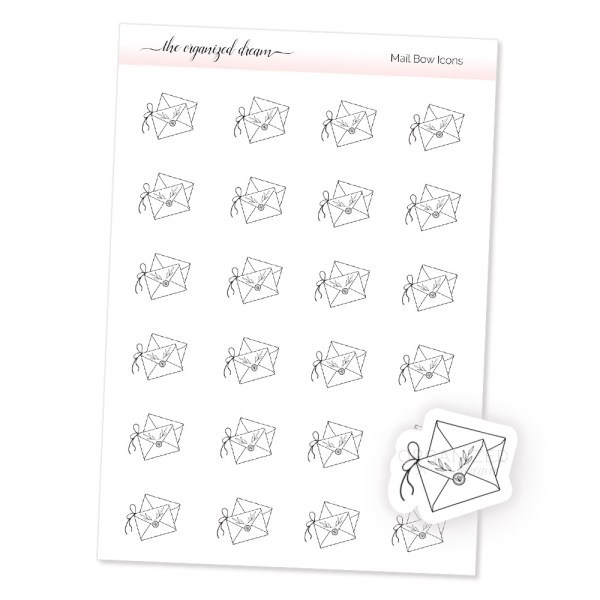 Mail Bow Icons