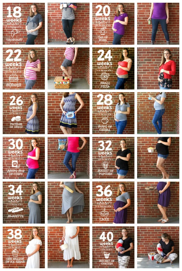 When Do You Start Showing With Your First Baby : start, showing, first, Photos, [weekly, Progression], Organized