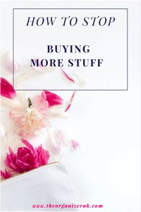 stop buying more stuff