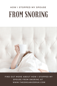 How I Stopped My Spouse From Snoring
