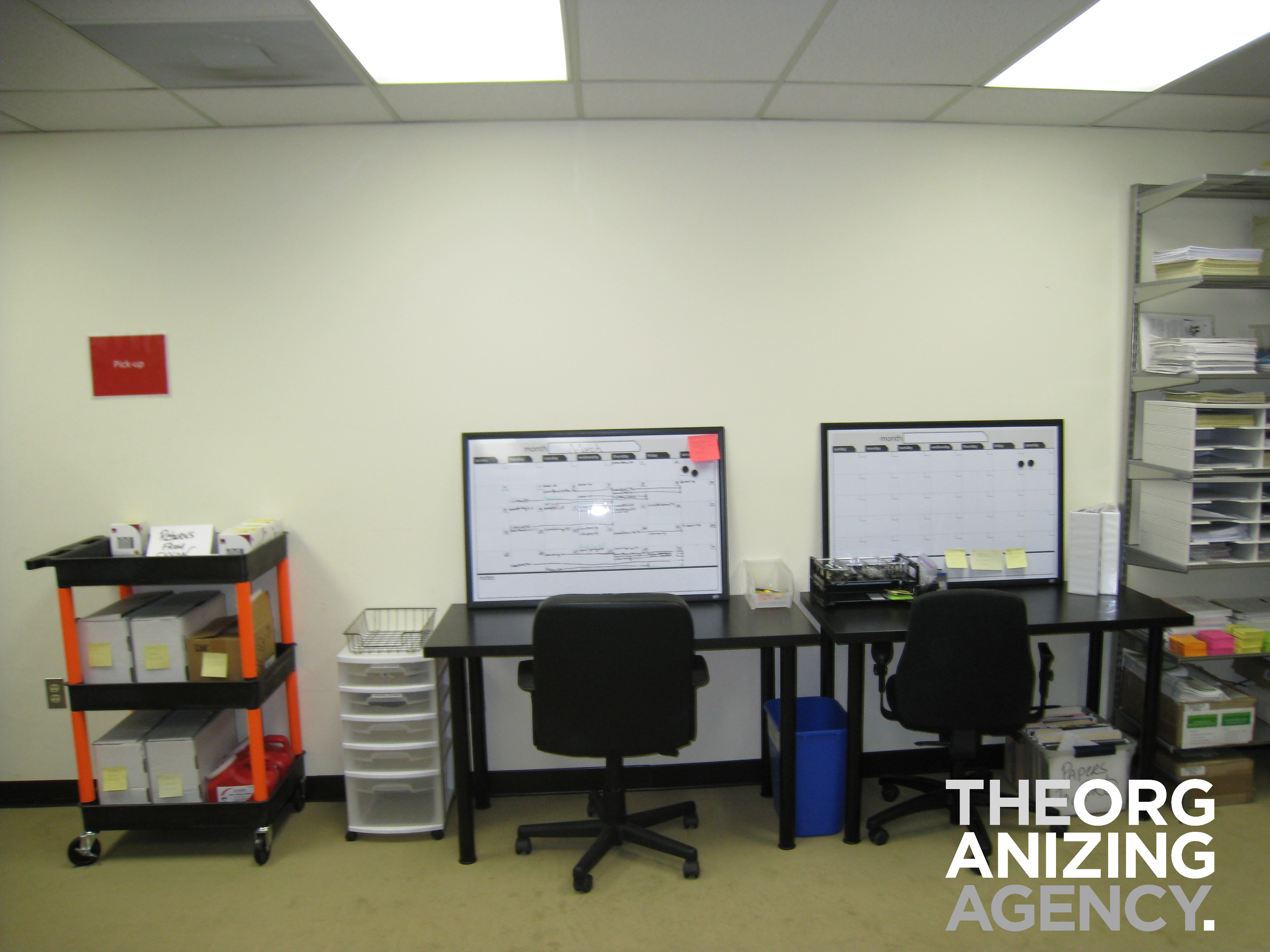 Shipping Desk AreaShipping Desk Area  The Organizing Agency