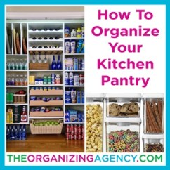 Kitchen Pantry Organizer Mission Style Cabinets How To Organize Your The Organizing Agency