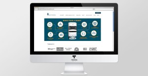 website and banners design