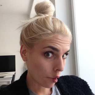 Das letzte Selfie mit blondem Haar!