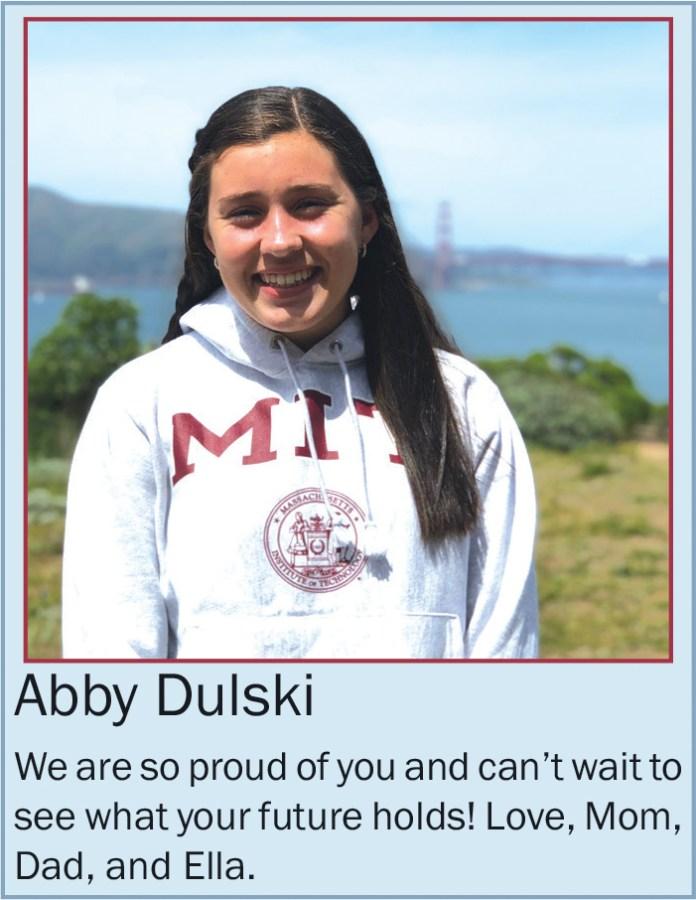 Abby Dulski May 2020