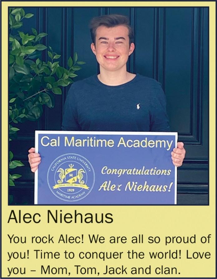 Alec Niehaus June 2020