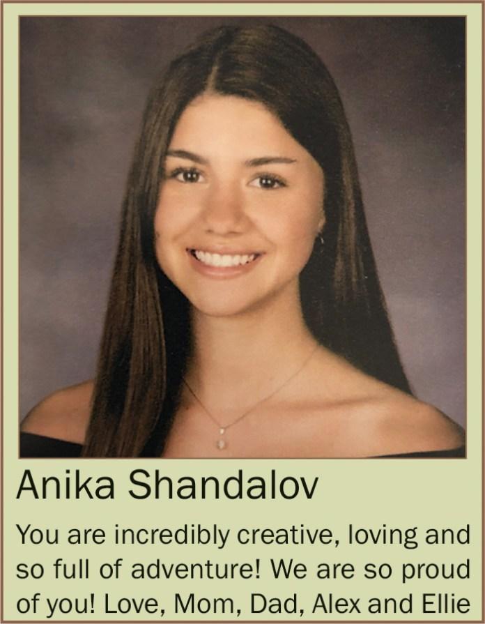 Anika Shandalov June 2020