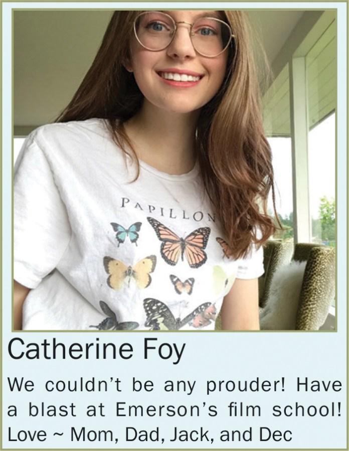 Catherine Foy b June 2020