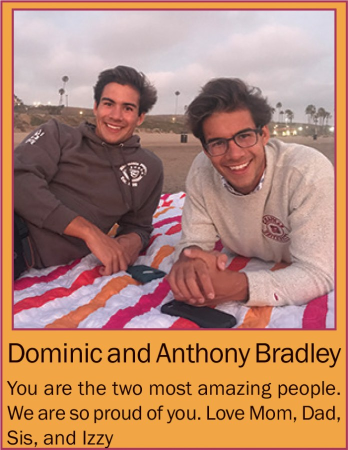 Dominic and Anthony Bradley June 2020