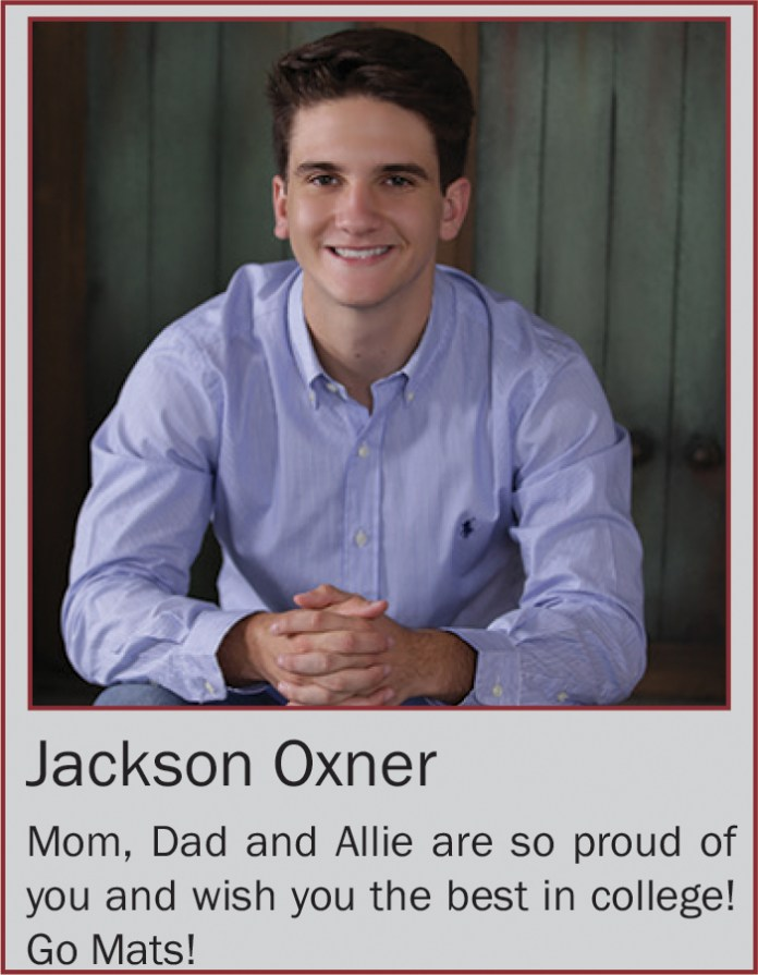 Jackson Oxner June 2020