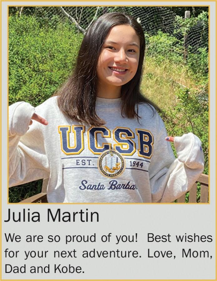 Julia Martin June 2020