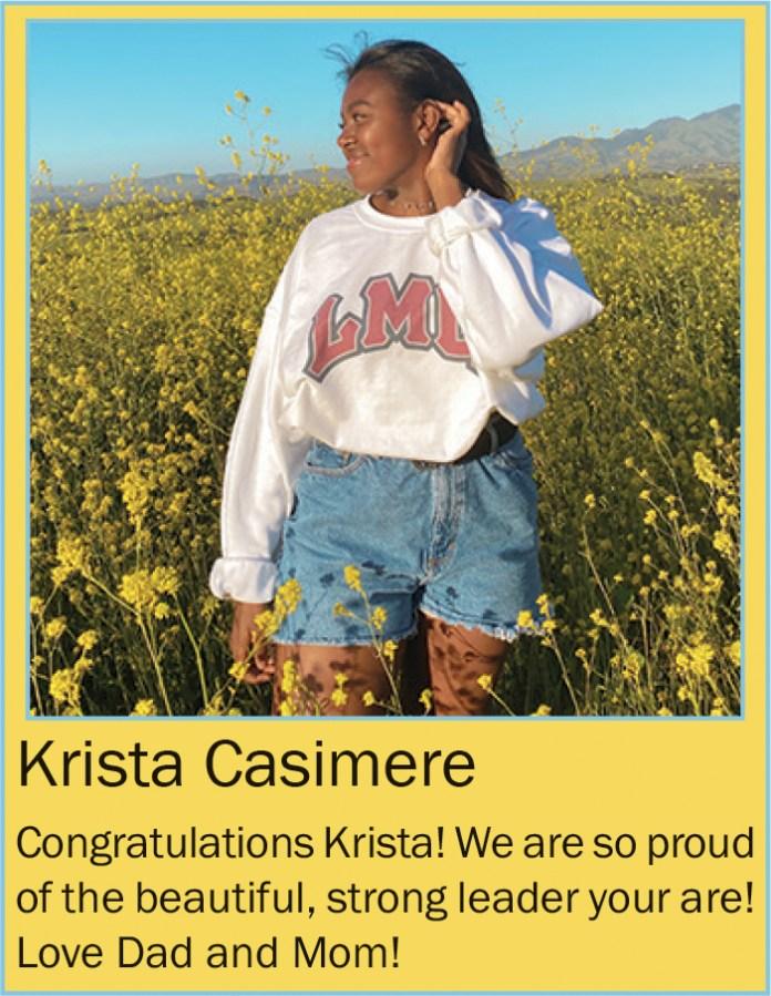 Krista Casimere June 2020