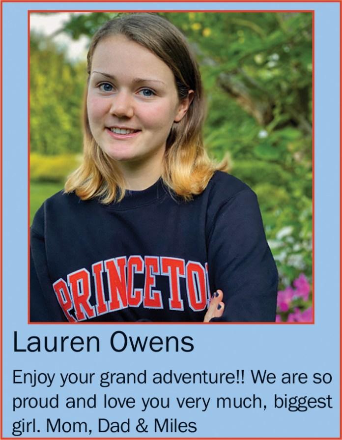 Lauren Owens June 2020