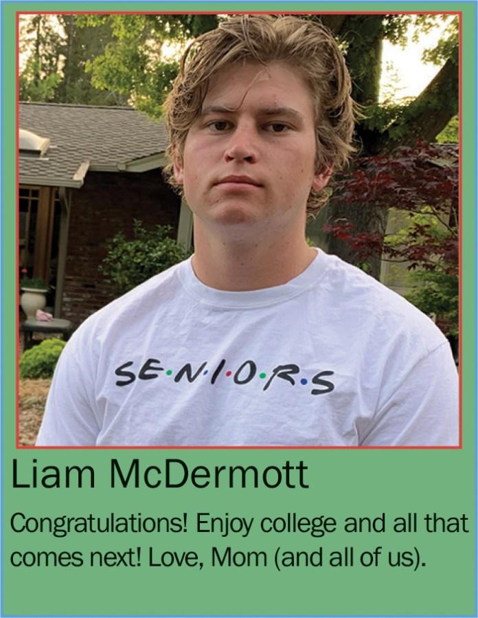 Liam McDermott June 2020
