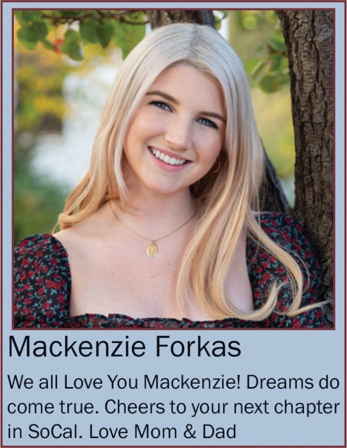 Mackenzie Forkas June 2020