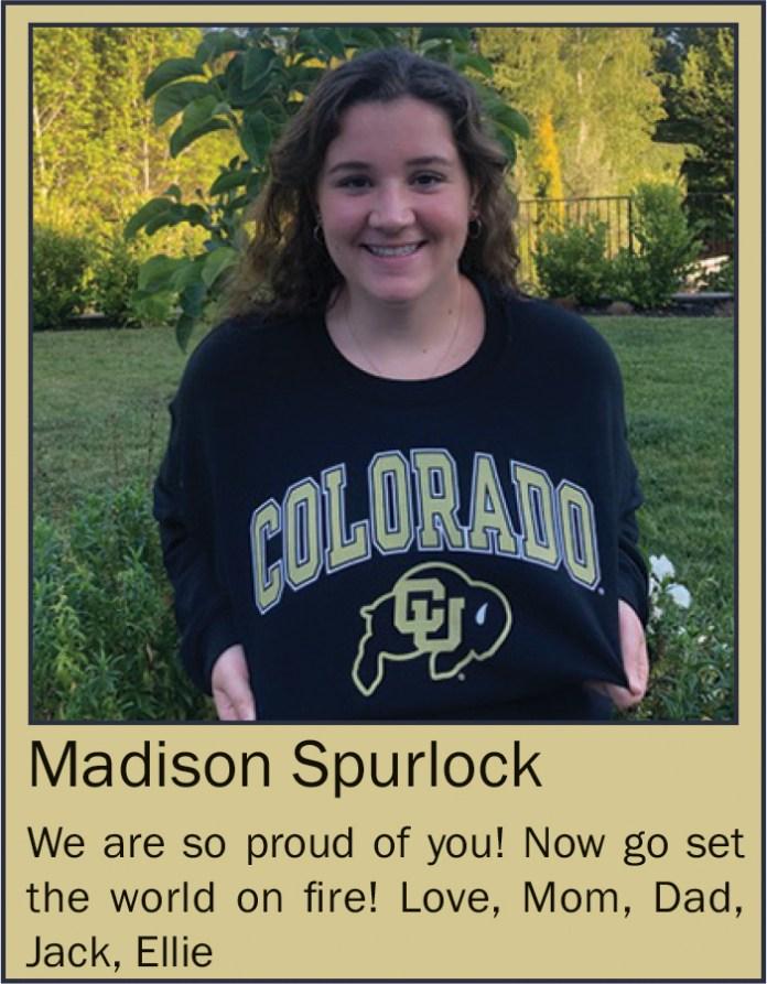 Madison Spurlock June 2020