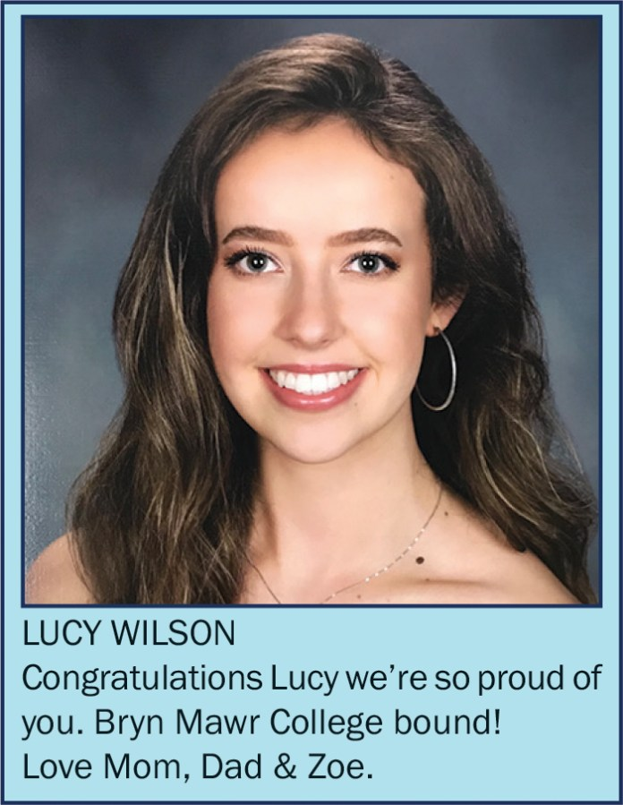 Lucy Wilson June 2021