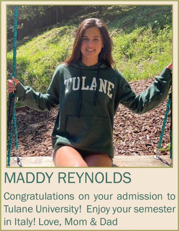 Maddy Reynolds June 2021
